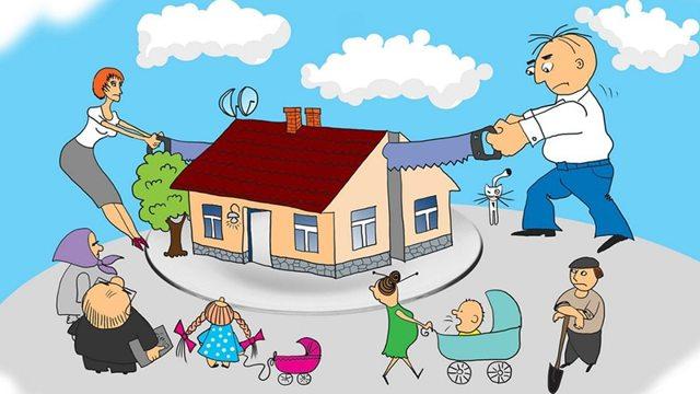 Как распределяется наследство между родственниками без завещания и с ним?