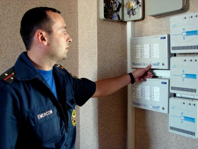 Акт комплексной проверки пожарной сигнализации