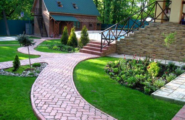 Дизайн дачного участка своими руками (143 фото): красивое ландшафтное оформление сада и огорода, как облагородить цветами участок в 15 соток